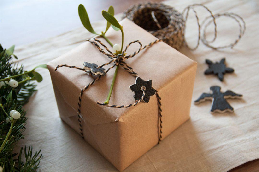 Hübsche Verpackugn für Weihnachtsgeschenke