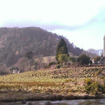 Glendalough in den Wicklow Mountains/Irland