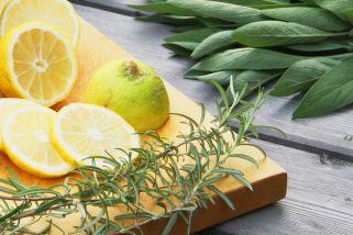 Zitronen, Rosmarin, Salbei