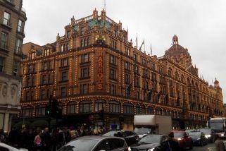 Harrod's in London zu Weihnachten