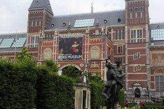 Rijksmuseum/Amsterdam und Garten