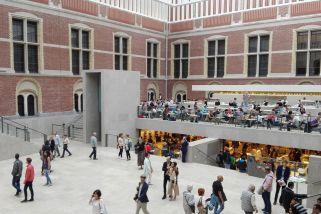 Innenhof Rijksmuseum/Amsterdam