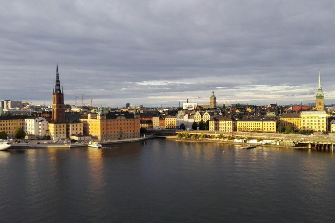 Stockholm vom Monteliusvägen/Södermalm